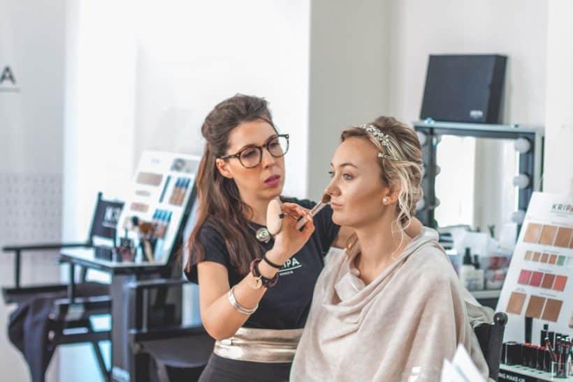 Svatební make-up největší výzva pro každého vizážistu