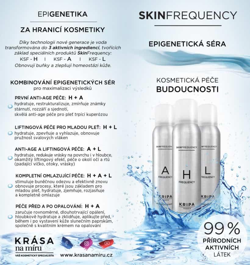 Epigenetická séra – kosmetická péče budoucnosti