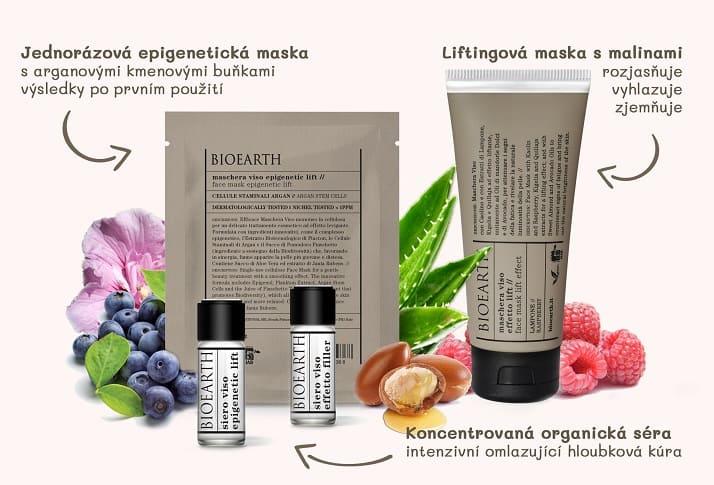 ORGANICKÁ Séra & masky BIOEARTH