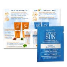 Katalog + vzorek SUN + CITY po opalování Anti-age