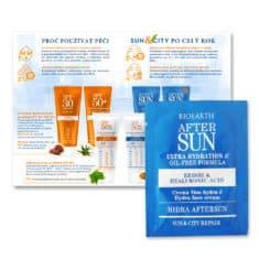 Katalog + vzorek SUN+CITY po opalování Hydratační