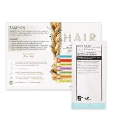 Vzorek: Šampon pro suché vlasy, roztřepené konečky