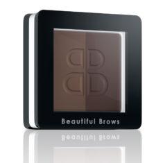 DUO Minerální pigment na obočí: Dark Brown/Choco