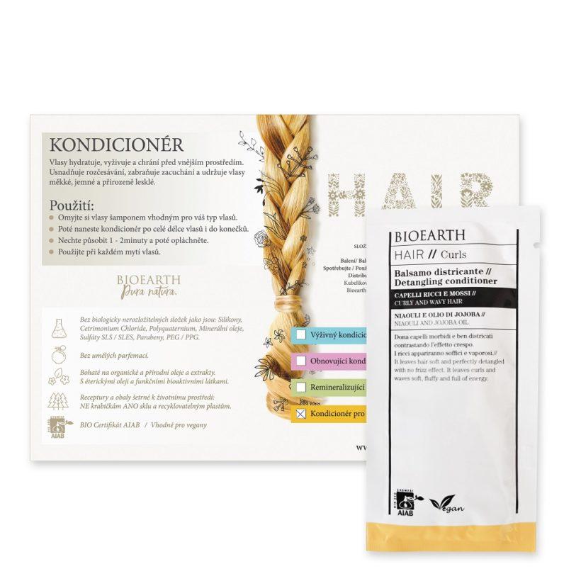 Vzorek: Kondicionér pro kudrnaté a vlnité vlasy