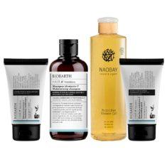 Péče pro suché vlasy + Sprchový gel