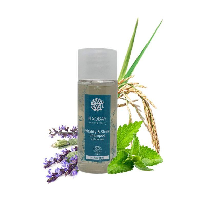 Cestovní šampon pro vitalitu a lesk