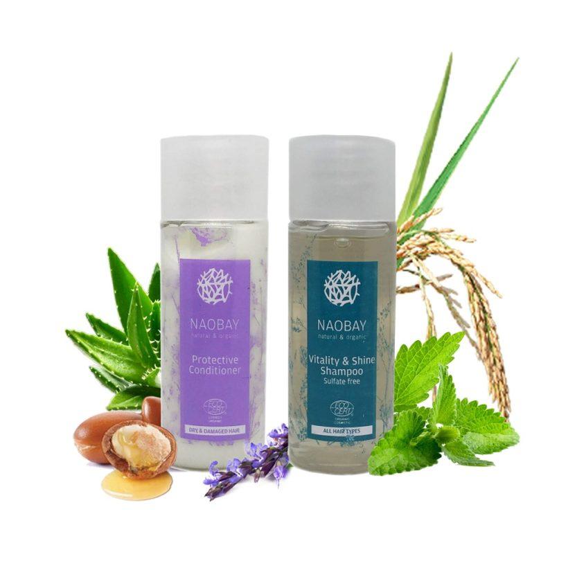 Dárkový balíček: šampón + kondicionér NAOBAY