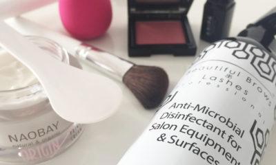 Dezinfekce kosmetických pomůcek