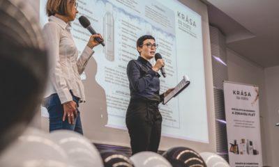 Majitelka KRIPA Venezia Giorgia Ongarato a přednáška o epigenetické kosmetice