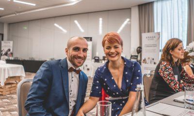 Kosmetický kongres 2018 manželé Kudelkovi
