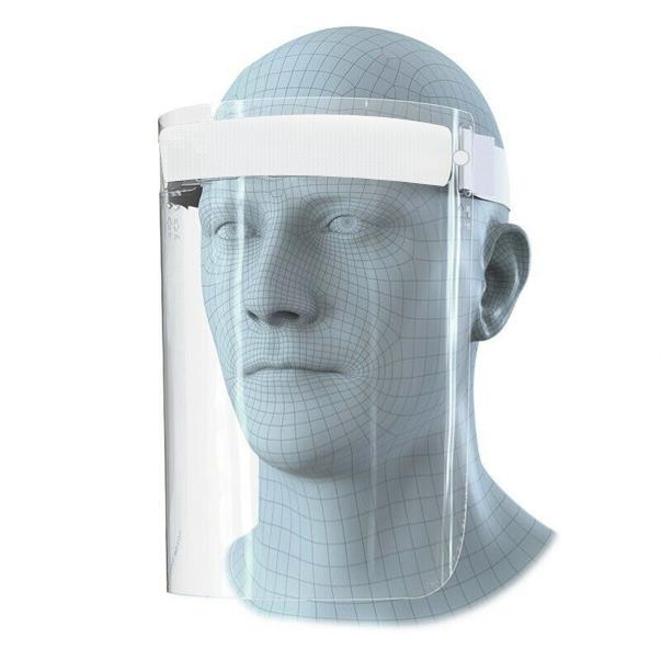 Ochranný obličejový štít bez loga