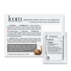 Vzorek LOOM: Lehký krém se šnečím extraktem
