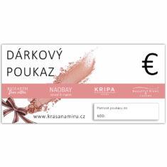 Elektronický poukaz EUR