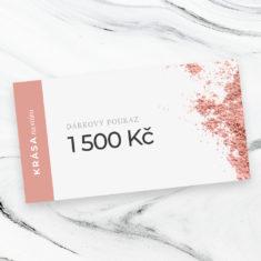 Elektronický poukaz: na 1500Kč