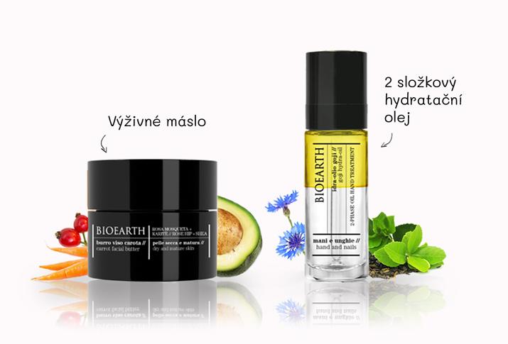 Hydratační oleje & másla