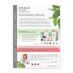 Kosmetický manuál – péče o pleť