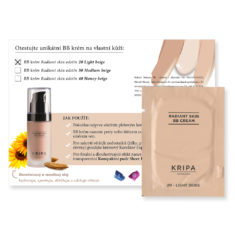 Vzorek: BB krém Radiant skin – Light beige