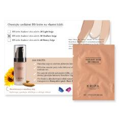 Vzorek: BB krém Radiant skin – Medium beige