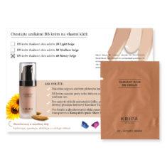 Vzorek: BB krém Radiant skin – Honey beige