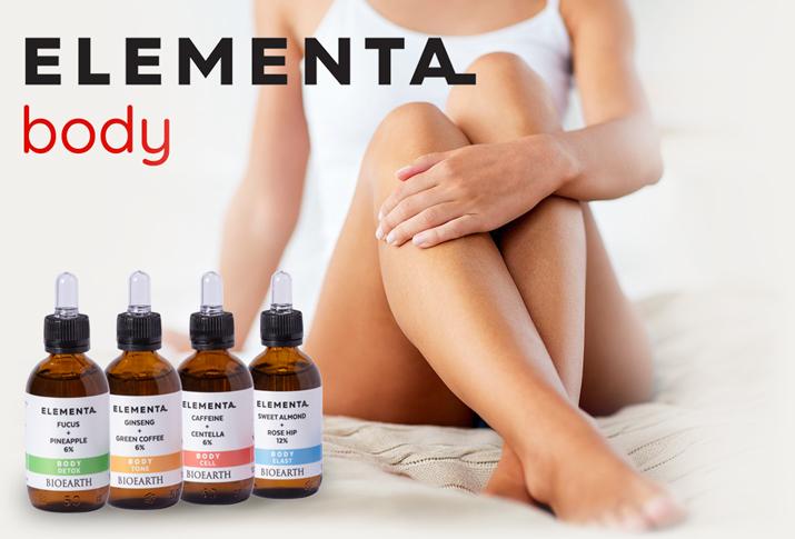 NOVINKA tělová péče ELEMENTA BODY